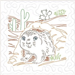 ITH SW Desert Baby Quilt 9 embroidery design