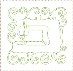 ITH Sewing Quilt Block 6 embroidery design