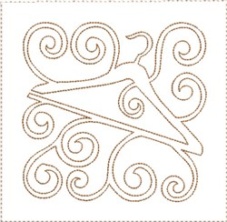 ITH Sewing Quilt Block 10 embroidery design