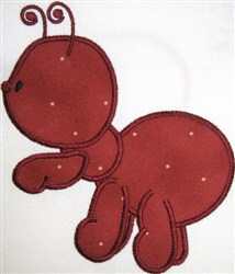 Appliqué Ant embroidery design