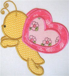 Appliqué Butterfly embroidery design
