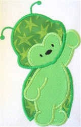 Appliqué Beetle embroidery design