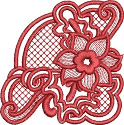 ITH Snowflake Coaster 3 embroidery design