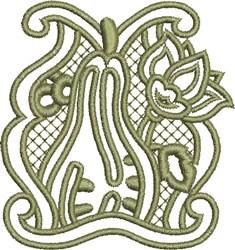 Autumn Squash embroidery design