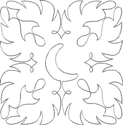 Angel Wings Single Run Quilt 1 embroidery design