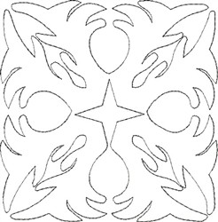 Angel Wings Single Run Quilt 8 embroidery design