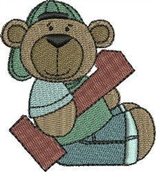 Birthday Bears embroidery design
