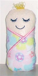ITH Baby Doll Softie embroidery design