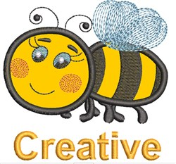 Bee Sayings Applique 1 embroidery design