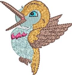 Baby Hummingbird 5 embroidery design