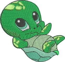 Calla the Sea Turtle embroidery design