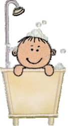 Bath Kids Applique embroidery design