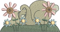 Cuddle Bunny Sleeping embroidery design