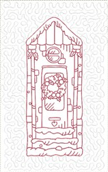 Medieval Fretwork embroidery design