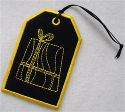 Christmas Gift Card Holder 1 embroidery design