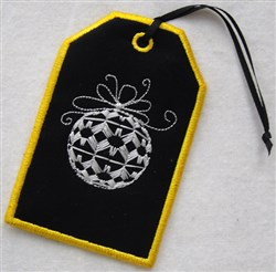 ITH Christmas Gift Card Holder 2 embroidery design