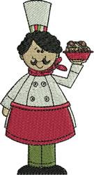 Chef Gennaro embroidery design