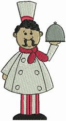 Chef Framcesco embroidery design