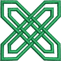 Small Celtic Knot 9 embroidery design