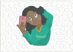 Cool Selfies Mug Mat 8 embroidery design