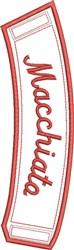 ITH Macchiato Coffee Wrap embroidery design