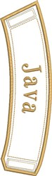 ITH Java Coffee Wrap embroidery design