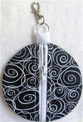 ITH Circle Essentials Pouch embroidery design