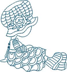 Bluework Crochet Sue embroidery design