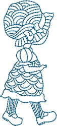 Bluework Crochet Sue embroidery design