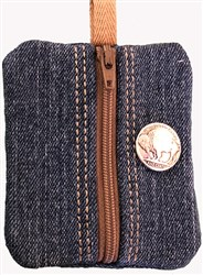ITH Authentic Cowboy Coin Purse embroidery design