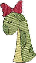 Dino Mom embroidery design