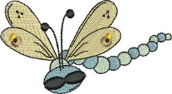 Cool Dragonfly embroidery design