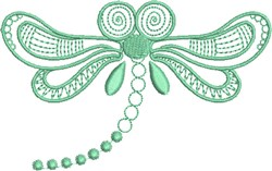 Dragonfly Flight embroidery design