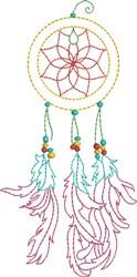 Elegant Dream Catcher embroidery design