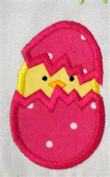 Peeps Chick embroidery design