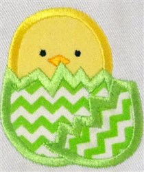 Hats Off Easter Chick embroidery design
