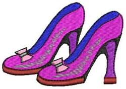 Fancy Heels embroidery design