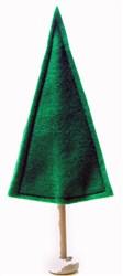 Felt Simple Christmas Tree embroidery design