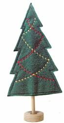 Felt Double Garland Christmas Tree embroidery design