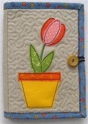 Folded E-reader Cover 1 embroidery design