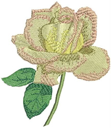 Peace Rose embroidery design