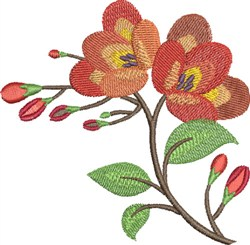 Pretty Floral embroidery design