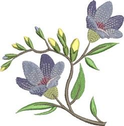 Lavender Floral embroidery design
