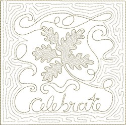 ITH Fall Quilt Block 10 embroidery design