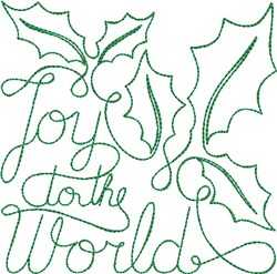 Free Motion Christmas 3 embroidery design