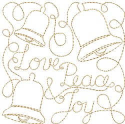 Free Motion Christmas 5 embroidery design