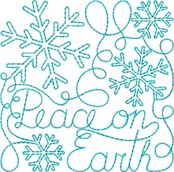 Free Motion Christmas 11 embroidery design
