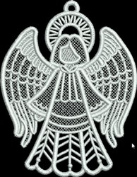 FSL Small Angel embroidery design