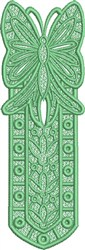 FSL Butterfly Bookmark C embroidery design