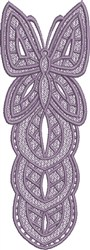 FSL Butterfly Bookmark D embroidery design